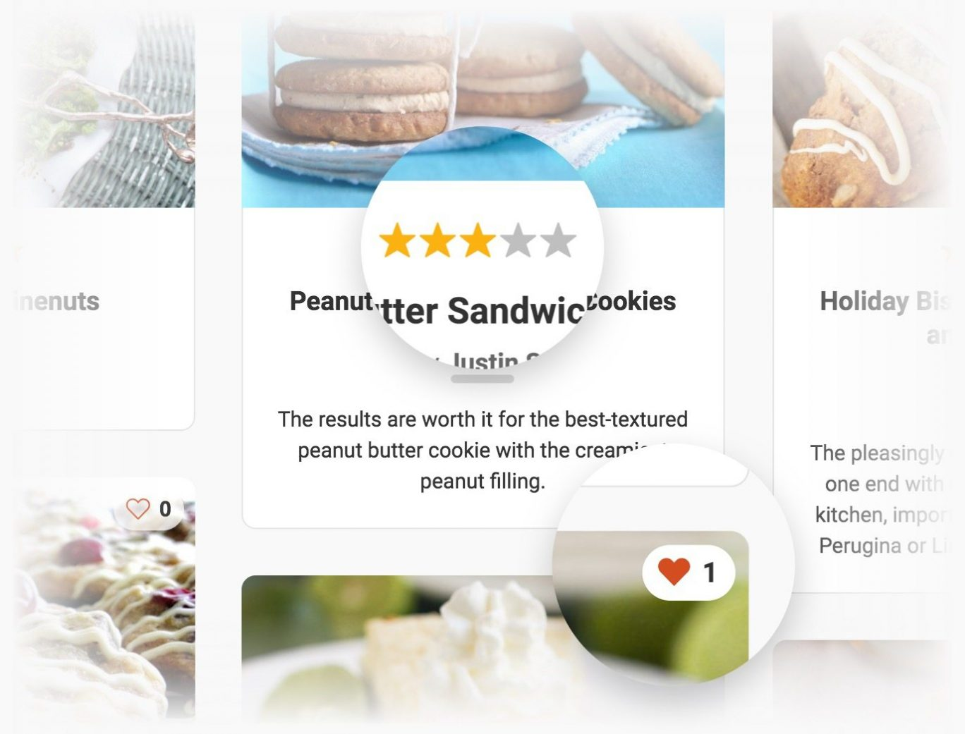 Recipe Plugin for WordPress - User ratings and favorites.