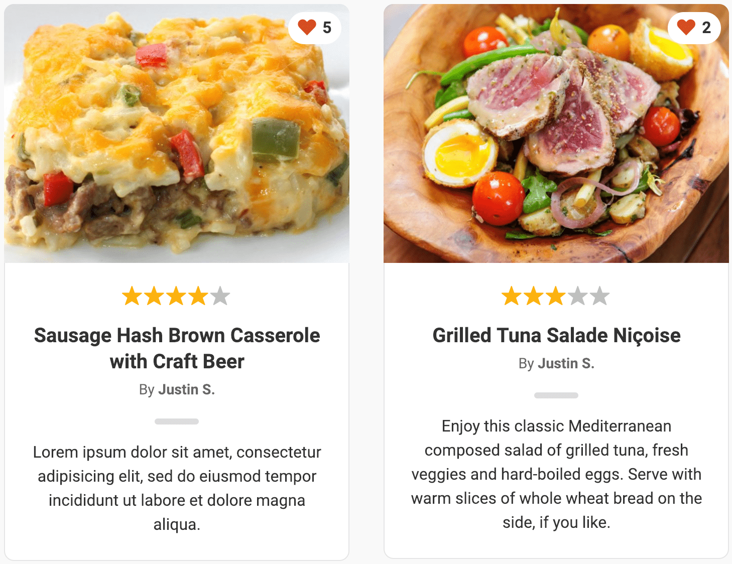 A beautifully crafted recipe plugin for WordPress 1